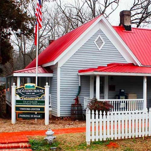 Mauldin House in Clarkesville
